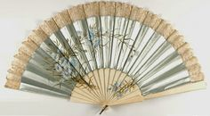 Late 19th century French fan.