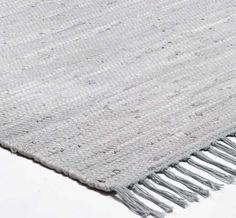 Happy Cotton Kilim - Grey Rugs | Modern Rugs