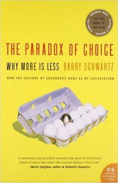 Buy The Paradox of Choice Book Online at Low Prices in India | The Paradox of Choice Reviews & Ratings - Amazon.in
