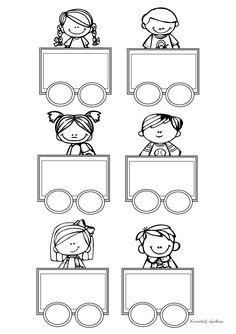 Kindergarten Design, Kindergarten Lessons, Cool Paper Crafts, Toddler Classroom, School Clipart, Art Drawings For Kids, School Items, School Worksheets, Borders For Paper