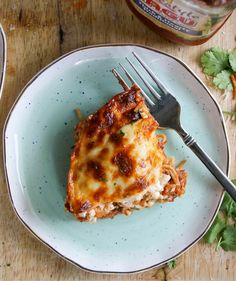 cheesy layered pasta bake | a flavor journal.