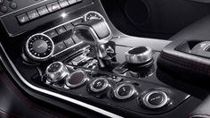 Mercedes SLS 63 AMG interior