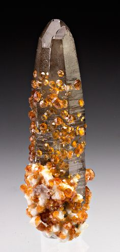Spessartine with Quartz