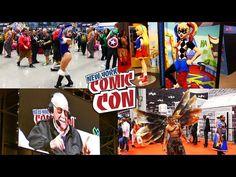 New York Comic Con 2016, Cosplay And Comics At NYCC 2016 - Video --> http://www.comics2film.com/new-york-comic-con-2016-cosplay-and-comics-at-nycc-2016/  #Cosplay