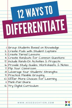 Differentiated Instruction Lesson Plan Template Lovely the 12 Best Differentiated Instruction Strategies for Cte Differentiated Instruction Strategies, Teaching Strategies, Differentiation Strategies, Differentiated Kindergarten, Teaching Methodology, Rubrics, Instructional Coaching, Instructional Strategies, Instructional Technology