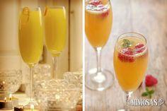Mira como preparar mimosas como cocktail para la despedida de soltera #bodas #ElBlogdeMaríaJosé #Cocktails #DespedidaSoltera #Bebida