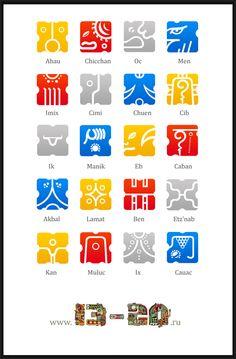 Mayan calendar 13-20 -
