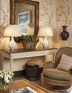 Fabulous palette and design; very inviting, don't you think? Imagine this in our home! from Colfax and Fowler