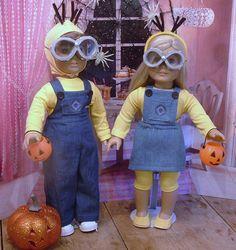 Minions for American Girl/Boy Dolls by MyGirlClothingCo on Etsy