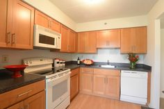 Severgn Apartments Model Kitchen