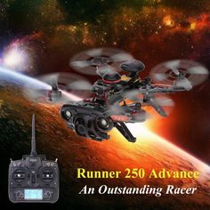 Original Walkera Runner 250 Advance GPS Version 2 FPV Drone with DEVO 7 and 1080P Camera/OSD/GPS RC Quadcopter