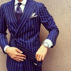 men suits classy -- CLICK VISIT link above for more details Men's Suits, Cool Suits, Sharp Dressed Man, Well Dressed Men, Blue And White Style, Best Suits For Men, Suit Combinations, Mode Costume, La Mode Masculine