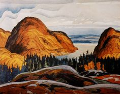 North Shore Lake Superior A. Casson was invited to join the group in 1926 Group Of Seven Art, Group Of Seven Paintings, Canadian Painters, Canadian Artists, Emily Carr Paintings, Oil Paintings, Pike Lake, Tom Thomson, Artists