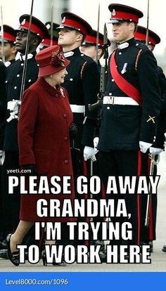 Go away grandma