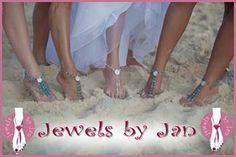 Elegant Barefoot Sandals | Beach Wedding Attire | Weddings By The Sea