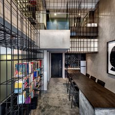 Check this out: Apartment Unified by a Giant Cage…