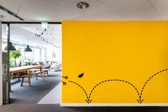 Office for a Finnish film and television production company in Kalasatama, Helsinki.