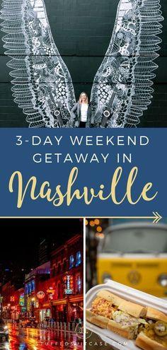 3 Day Romantic Weekend Getaway in Nashville TN (Car Free) #car #Day #Free #getaway #nashville #romantic #weekend Romantic Weekend Getaways, Romantic Vacations, Romantic Travel, Couples Weekend Getaway Ideas, Romantic Road, Romantic Gifts, Vacation Ideas, Weekender, Illinois