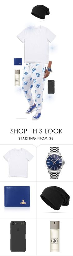"""Untitled #2696"" by dance4ever1222 ❤ liked on Polyvore featuring 1670 HBC, Thomas Sabo, Vivienne Westwood, Under Armour, Giorgio Armani, men's fashion and menswear"
