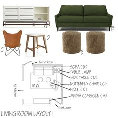Got a Small Living Space? I'm an Interior Designer and I'm Here to Help. You have to space-plan. Especially if you live in a small space.