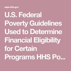 U.S. Federal Poverty Guidelines Used to Determine Financial Eligibility for Certain Programs HHS Poverty Guidelines for 2021 The 2021 poverty guidelines are in effect as of January 13, 2021Federal Register Notice, February 1, 2021 - Full text. History Of Psychology, Energy Assistance, Supplemental Security Income, Consumer Price Index, Federated States Of Micronesia, National School, January 13, Yearly Calendar, Human Services