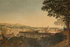 Luigi Garibbo (1782-1869), Genova verso levante, prima metà del XIX sec., litografia