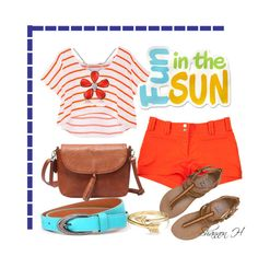 Junior Fun Day by shannonholcombe70 on Polyvore featuring polyvore fashion style Rebecca Minkoff Versace Billabong Del Gatto Bling Jewelry