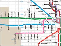 As any savvy Chicagoan knows, the quickest & cheapest way to get around is the CTA! Breeze by with the Brown Line or avoid the masses by taking the express buses--the CTA is the best way to move about the city. Experience Designer Tip: purchase a 1, 3 or 7-Day pass for unlimited train & bus rides at a fraction of the cost!