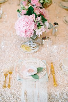 Pink Tea Service for Baby Shower  Photography: Krista Mason Photography - kristamason.com/  Read More: http://www.stylemepretty.com/living/2014/11/10/high-tea-baby-shower/