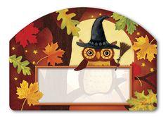 Magnet Works Yard DeSigns Yard Sign - Halloween Owl Design Address Plaque