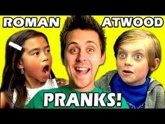 KIDS REACT TO ROMAN ATWOOD