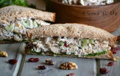 Stir the seasonal flavors of Fall right into this yummy sandwich spread. Cranberry Walnut Chicken Salad is a healthier version of chicken salad without sacrificing an iotta of flavor. The seasonal flavors included go together so perfectly, it tastes like it came from your favorite gourmet sandwich shop– not whipped[Read more]