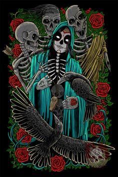 Dia de los muertos by eRIOToman