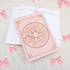 """kitsunescent: """"nya! ♡ Cardcaptor sakura notebook x ♡ """""""