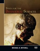 Stata for the behavioral sciences / Michael N. Mitchell