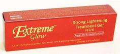 Extreme Glow Strong Lightening Treatment Gel 1 oz. by Extreme Glow. $16.63. A powerful lightening effect for an even tone & glowing complexion.. With Argan Oil and Vegeclairine. The Extreme Glow treatment gel is formulated with Argon Oil, the best moisturizing and repairing component in the world. Also Featured our patented ingredient: Vegeclairine, specially effective lightening and whitening active ingredient against all the hyper pigmentation problems of the skin such as sca...