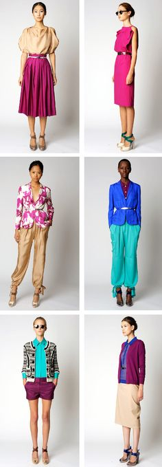 I am liking these brights and neutrals by Rachel Roy. via cocokelley.blogspot