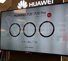 Huawei P20 Pro el primer teléfono con tres cámaras llegará a México el 19 de abril
