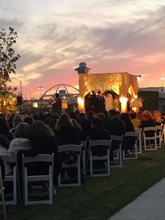 Congratulations to Devora and Yoni, who held their beautiful wedding with us over the weekend! See how creatively they used our outdoor space. #weddingwednesday