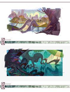 Conheça o portfolio de Dominick Domingo | THECAB - The Concept Art Blog