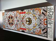 235 - the Universe Machine Mural by Joshua Davis, via Behance