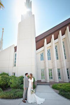 Las Vegas LDS Temple Wedding Photography