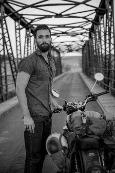 Men's life and style. Casual, beard, motorcycle Raddest Looks On The Internet http://www.raddestlooks.net