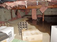 Insulating Crawl Space - Moisture Problems #insulation