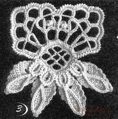 Tina's handicraft : 24 motifs for irish lace creative Irish Crochet Patterns, Crochet Diagram, Freeform Crochet, Thread Crochet, Crochet Motif, Knit Crochet, Crochet Home, Love Crochet, Crochet Flowers