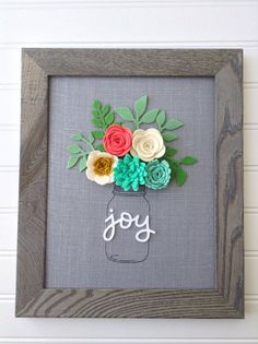 $40.00 Im so excited for this new spring line! These are my original designs. This is an 8x10 burlap board. This listing is for the grey burlap board.