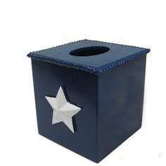 Bella Tissue Box from #PoshLiving #homedecor #bathdecor