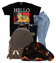 """""""VIP"""" by awesomeblossom23 ❤ liked on Polyvore featuring Casetify, MICHAEL Michael Kors and NIKE"""
