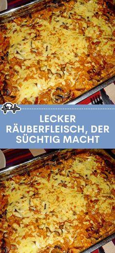 LECKER RÄUBERFLEISCH, DER SÜCHTIG MACHT – Die Küche
