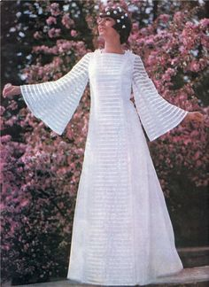 Russian wedding gown. Early 1970. #bride #history #Russian #weddings Russian Brides, Russian Wedding, Vintage Wedding Photos, Wedding Pictures, Old And New, Wedding Gowns, Weddings, Bridal, History